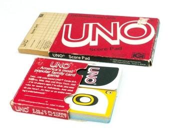 UNO Card Game 1979 Vintage Games