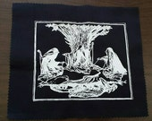 Three fates handprinted patch