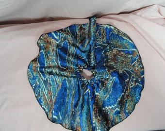 SD BJD Dollfie Circle Skirt Blue Snake Skin