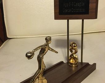 Big Lebowski Jesus Quintana Bowling Trophy