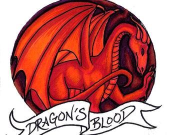 Dragon's Blood handmade fantasy soap