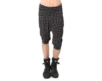 Low Crotch Shorts - Baggy Shorts - Drop Crotch Shorts - Sweatpants - Unisex Low Crotch Shorts - Unisex Shorts - Baggy Yoga Shorts