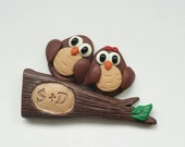 Personalized Owl Magnet