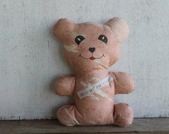 Vintage Teddy Bear // Telephone Pioneers of America // Customer Appreciation Gift Bear