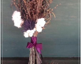 Dried Natural Bridal Bouquet
