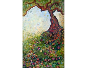 New orleans live oak tree giclée print on archival fine art paper signed and numbered
