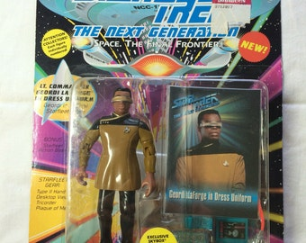 1993 Star Trek, the Next Generation Geordi LaForge action figure New In Box NOS