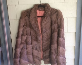 Vintage Fur Womens Fur Coat