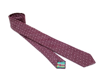 Purple Dot Necktie