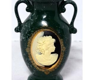 Acrylic Cameo Bud Vase Flower Vase Blue Pottery Home and Garden Decor Vases Flower Vases