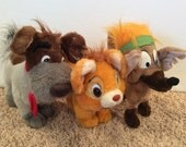 Oliver and Company Plush Set of 3