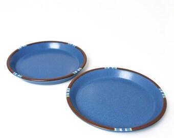 Vintage Dansk Mesa Blue Plates