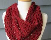 PATTERN 016 - Crochet Pattern to Make the Annalyse Cowl