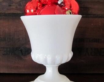 Vintage Milkglass Urn