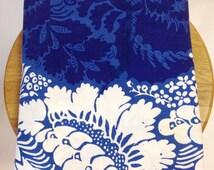1963 MARIMEKKO Ananas Fabric Tablecloth Curtain Panel Wall Hanging