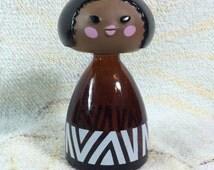 Avon Small World African Perfume Bottle - empty