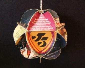 Jackson 5 Album Cover Ornament Made Of Record Jackets: Jackson Five, Michael Jackson