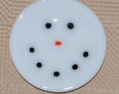 Small Snowman Dish
