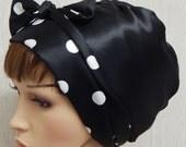 Satin headscarf, silky head covering, head scarf for women, Jewish tichel, sleeping bonnet, gift for women, bad hair day hair scarf