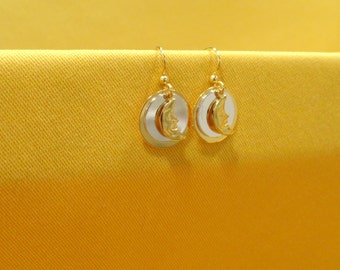 Moonbeam sweet gold earrings (Style #328)