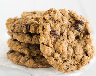 ON SALE  Old Fashioned Oatmeal Raisin Cookies