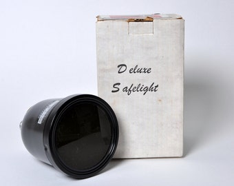 Vintage Testrite Safelight No. 3B Darkroom