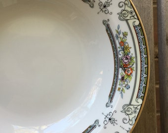 """Perfect 2 Mikasa Cambridge 9"""" Round Vegetable Serving Bowls  L9015 Made in Japan"""