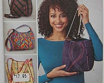 Simplicity 1597 Sewing Pattern, Misses' Bags, Purses UNCUT