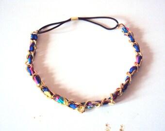 Chain Necklace Bohemian Necklace Fabric Necklace Boho Fashion Chain Headband Women Fashion Accessories Gift Ideas