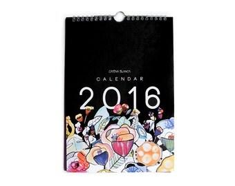 SALE** 2016 Wall Calendar