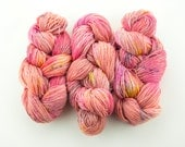 Layer Cake - 4 Ply Sock Yarn - pink multicolor speckled yarn - fingering weight superwash wool