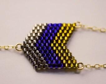 Bracelet aux chevrons