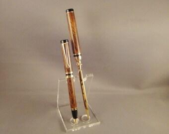 Twist Pen and Letter Opener Set - Desert Ironwood