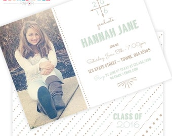 Arrow #Graduation Invites
