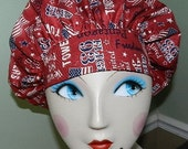 In Honor of 9/11  Banded Bouffant Surgical Cap / Bakers Cap