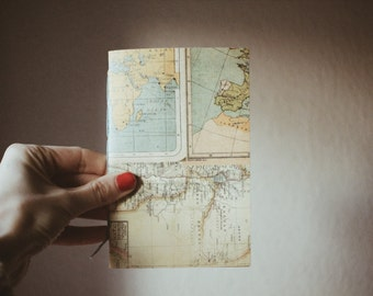 Handmade travel notebook