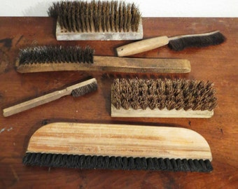 Brushes and Combs Instant collection, vintage utility tools FREE SHIPPING