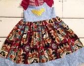 Gooseberry Lane Originals Wonder Woman Dress