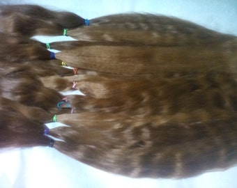 Blythe / BJD / MSD / Combed Doll Hair / Re root / Combed Suri Alpaca / Wig    (52)