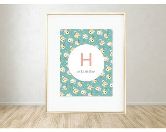 Personalized Printable Art: H is for...
