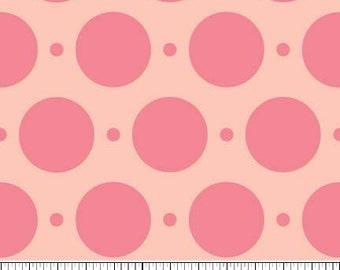 Sweet Nothings Pink Sweet Dots by Zoe Pearn Designs for Riley Blake, 1/2 yard