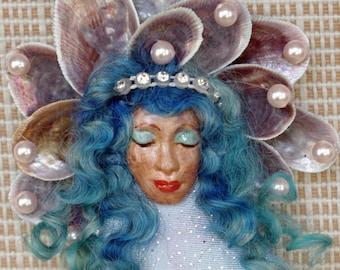Trinket Mermaid of Pearlie Blues