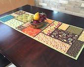 Quilted Table Runner Pattern - Random Windows - #545