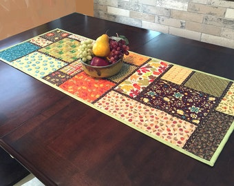 Quilted Table Runner Pattern - Random Windows - #545