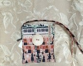 Cotton and Steel Trains Asta Bag