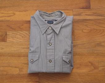 mens vintage Polo western shirt