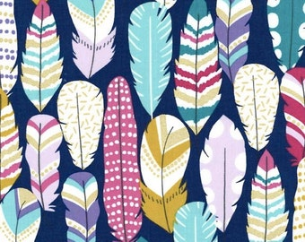 Plucked Fabric in Midnight by Michael Miller Fabric - Half Yard
