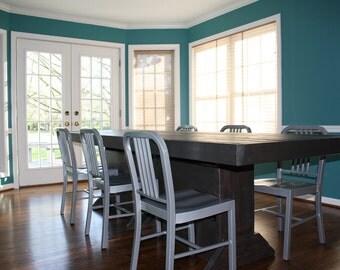 9 foot farmhouse table