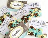 Logo Colored Confetti - festive-fetti™ Party Swag Bag Confetti in a Bag to Match Your Business Colors / Toss Confetti / Confetti as Decor