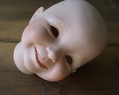 Doll Head Kayla II Dianna Effner 94 Expressions Painted Bisque